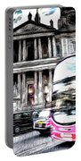London Classic Art Portable Battery Charger