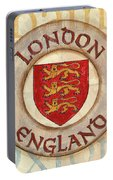 London Coat Of Arms Portable Battery Charger
