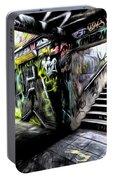 London Graffiti Art Portable Battery Charger