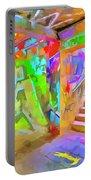 London Graffiti Pop Art Portable Battery Charger