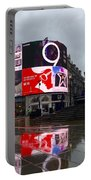 London Piccadilly On A Rainy Day Portable Battery Charger