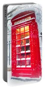 London Red Telephone Booth  Portable Battery Charger