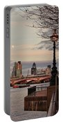 London Skyline From The South Bank Portable Battery Charger