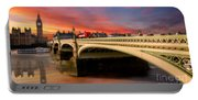 London Sunset Portable Battery Charger
