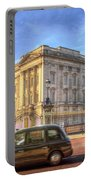 London Taxi And Buckingham Palace  Portable Battery Charger