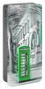 London Telephone Green Portable Battery Charger