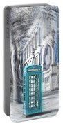 London Telephone Turquoise Portable Battery Charger