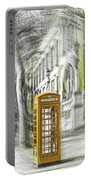 London Telephone Yellow Portable Battery Charger