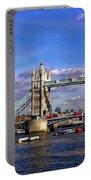 London Tower Bridge Portable Battery Charger