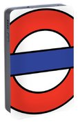 London Underground Blank Portable Battery Charger