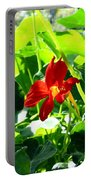 Lone Nasturtium   Portable Battery Charger