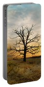 Lone Oak On The Marsh Portable Battery Charger
