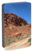 Lone Rock Valley Of Fire  Portable Battery Charger