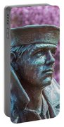 Lone Sailor In Color Portable Battery Charger
