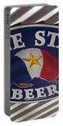 Lone Star Beer Portable Battery Charger