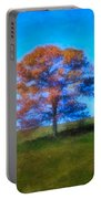 Lone Trees Painting Portable Battery Charger