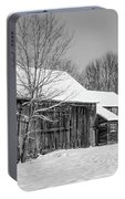 Lonely Grey Barn Portable Battery Charger