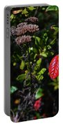 Lonely Red Leaf Portable Battery Charger