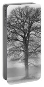 Lonely Winter Tree Portable Battery Charger