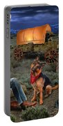 Lonesome Cowboy Portable Battery Charger