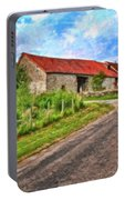 Long Barns Near Avincey - P4a16016 Portable Battery Charger