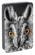 Long Eared Owl 2 Portable Battery Charger