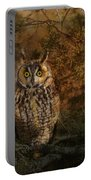 Long Eared Owl Surprise Portable Battery Charger