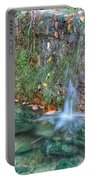 Long Exposure Waterfall Portable Battery Charger