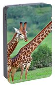 Long Necks Together Portable Battery Charger