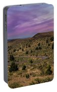 Long Winding Road In Central Oregon Portable Battery Charger
