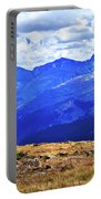 Longs Peak Rocky Mountain National Park Portable Battery Charger
