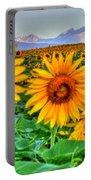 Longs Sunflowers Portable Battery Charger