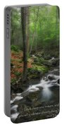 Look Deep Into Nature Portable Battery Charger