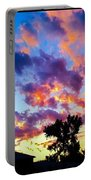 Looking At The Sunset Portable Battery Charger