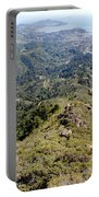 Looking Down From The Top Of Mount Tamalpais 2 Portable Battery Charger