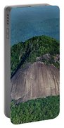 Looking Glass Rock Mountain In North Carolina Portable Battery Charger