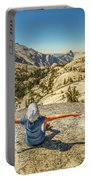 Looking Half Dome Portable Battery Charger