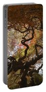Looking Thru A Japanese Maple Portable Battery Charger