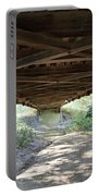 Looking Up Nevins Bridge Indiana Portable Battery Charger