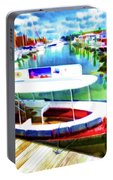 Loose Cannon Water Taxi 1 Portable Battery Charger by Lanjee Chee