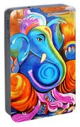 Lord Ganesh  Portable Battery Charger