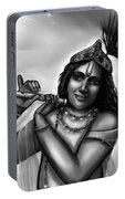 Lord Krishna Portable Battery Charger