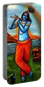 Lord Krishna- Hindu Deity Portable Battery Charger