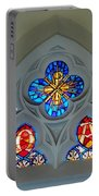Loretto Chapel Stained Glass Portable Battery Charger