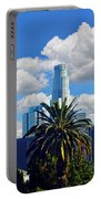 Los Angeles And Palm Trees Portable Battery Charger