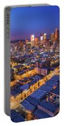 Los Angeles At Dusk Portable Battery Charger