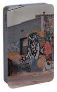 Los Angeles Urban Art Portable Battery Charger