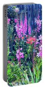 Los Osos Flower Garden Portable Battery Charger