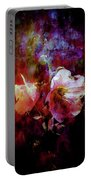 Lost Hollyhock Burning In The Dark Digital Painting 1358 Ldp_2 Portable Battery Charger