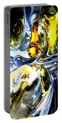 Lost In Space Abstract Portable Battery Charger